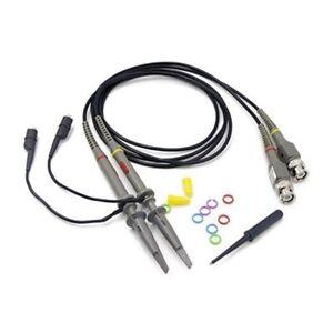 HANTEK 60/80/100/200MHz oscilloscopio digitale 1x10 portata clip di Prova Piombo Sonda Kit