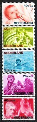 Motive Briefmarken Postfrisch Strukturelle Behinderungen Pflichtbewusst Niederlande Nr.866/70 ** Voor Het Kind 1966