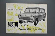 Vintage Brochure: Austin Mini Seven Countryman Estate  1960 No1883