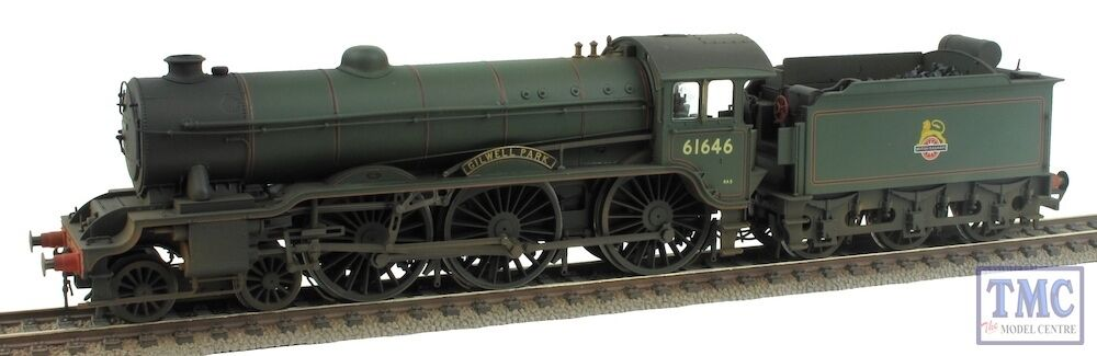R3318 Hornby OO Gilwell Park 61646 B17  3 klass Early BR Coal and TMC Weatherd