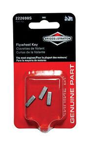 Briggs Genuine Parts 3pack Flywheel Key 222698s #5002K