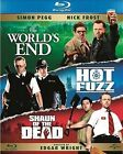 The World's End / Hot Fuzz / Shaun Of The Dead (Blu-ray, 2013, 3-Disc Set, Box Set)