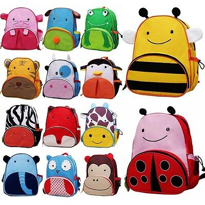 New Cartoon Kids Children Animal Backpack Boy Girl baby School Bag Shoulder Bag