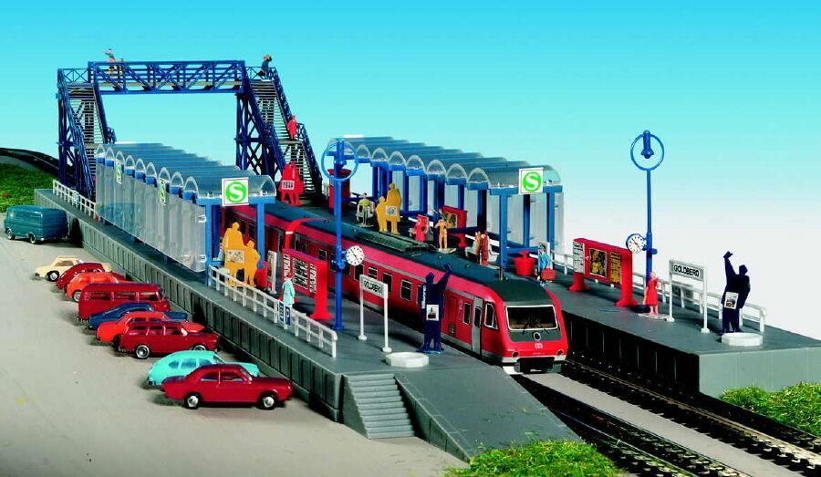 Kibri N 37756 S-Bahn Haltestelle Goldberg NEU OVP  | Große Auswahl