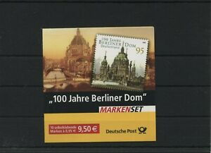 Germany-BRD-Federal-Stamp-Booklet-MH-57-Postmarked-Used-More-See-Shop