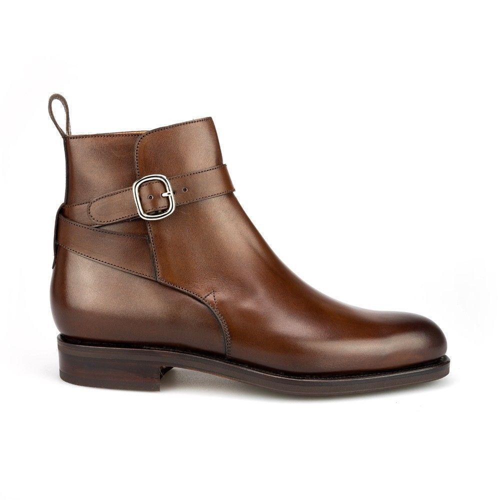 Da alla Uomo fatto a mano Jodhpur cinturino alla Da caviglia con fibbia AROUND Brown in pelle di colore per gli uomini 7f2ff1