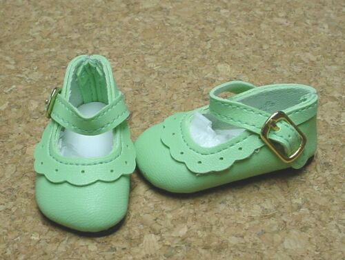 58mm LT GREEN Scallop Ankle St Hermoine Some MSDs Flat F Cissy Doll Shoes