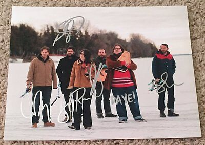 Rock & Pop Entertainment Memorabilia 5 Moderate Price The Strumbellas Signed Autograph 8x10 Photo D W/proof Simon Ward
