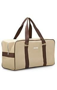 6d21017885dd Image is loading Salvatore-Ferragamo-Men-Duffle-Bag-Weekender-Gym-Travel-
