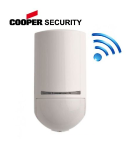12m Coverage 868mHz XCELR Wireless Grade 2 PIR Detector Scantronic Cooper