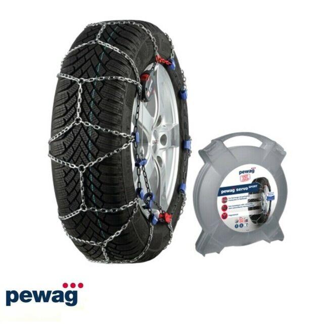 Cadenas de Nieve 7mm Pewag Servo Sport RSS64 Homologado de Neumáticos 175/75r14
