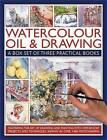 Watercolour, Oil & Drawing: A Box Set of Three Practical Books by Sarah Hoggett, Ian Sidaway, Wendy Jelbert (Paperback, 2011)