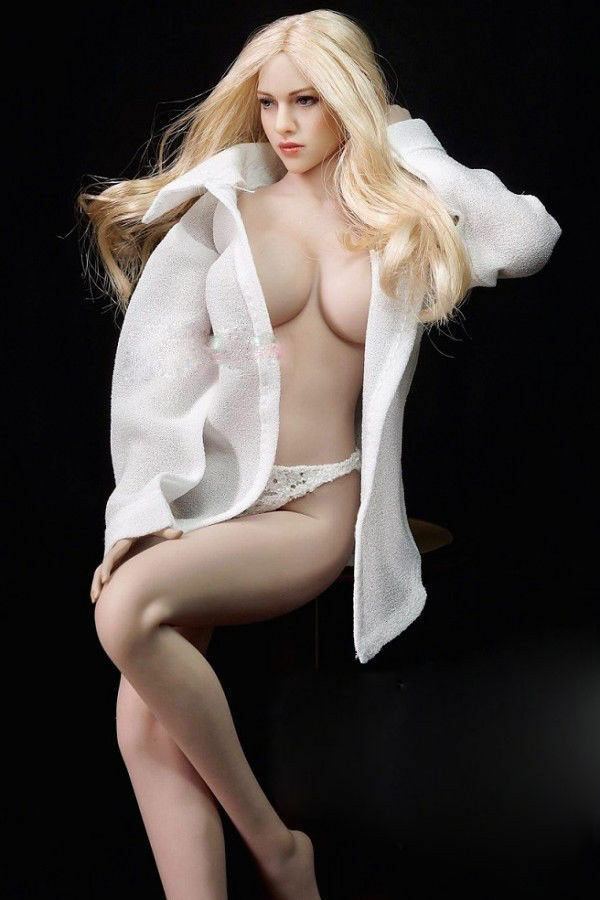 CN DIY 1/6 TBLeague Phicen S09C Female Seamless Large Breast  Body KIM I head