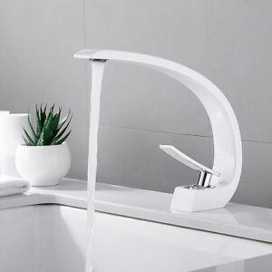 Details zu Moderne chrome salle de bain lavabo évier mono mitigeur robinet  Cloakroom