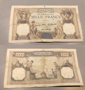 1000 Francs Cérès Mercure Type 1927 - 29/12/1932 C.2284 Ttb 5ingj2uu-07232815-218871574