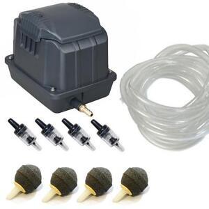 Koi Outdoor Fish Pond Air Pump Aquarium Tank Hydroponics Boyu 10 60l Min Ebay