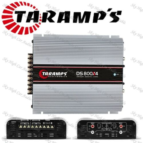 TARAMPS DS800X4 1 OHMS 4CH X 200 CLASS D SHIPS FAST FROM USA USA WARRANTY
