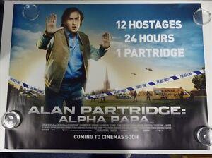 Alan Partridge- Alpha Papa Comédie Original Film - Affiche Du Film Quad 76x102cm MaoRVpqM-09101120-702716014