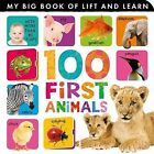 100 First Animals by Tiger Tales (Board book, 2013)