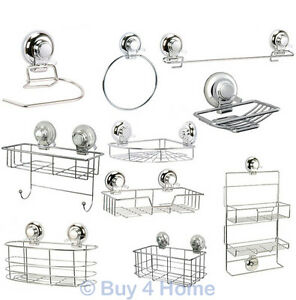 Image Is Loading Super Suction 034 Vertex Bathroom Wall Accessories