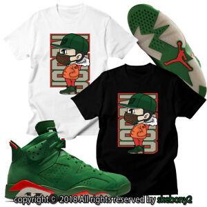 20ce4aaf619 NEW CUSTOM T SHIRT Air Jordan 6 Gatorade matching TEE JD 6-8-1 Gator ...