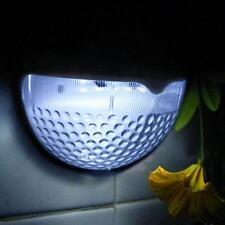 6 LED Solar Lamp Garden Step Lights Outdoor Waterproof Semi Circle Guardrail