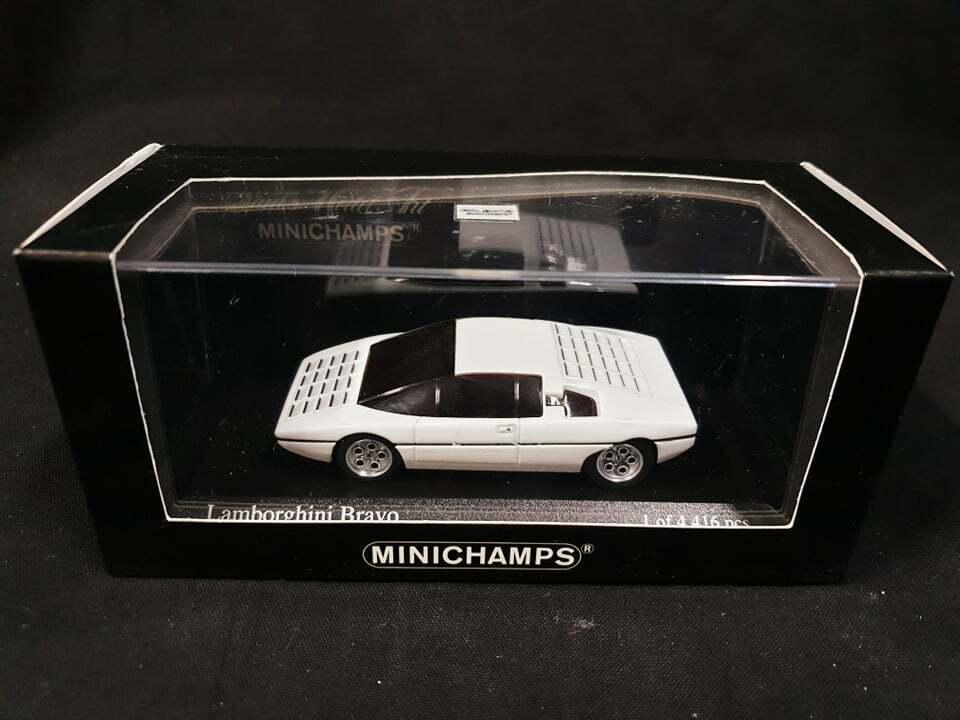 perfezionare Minichamps 1 1 1 43 Scale modello auto 400 103670 - 1974 Lamborghini Bravo - bianca..  fornire un prodotto di qualità