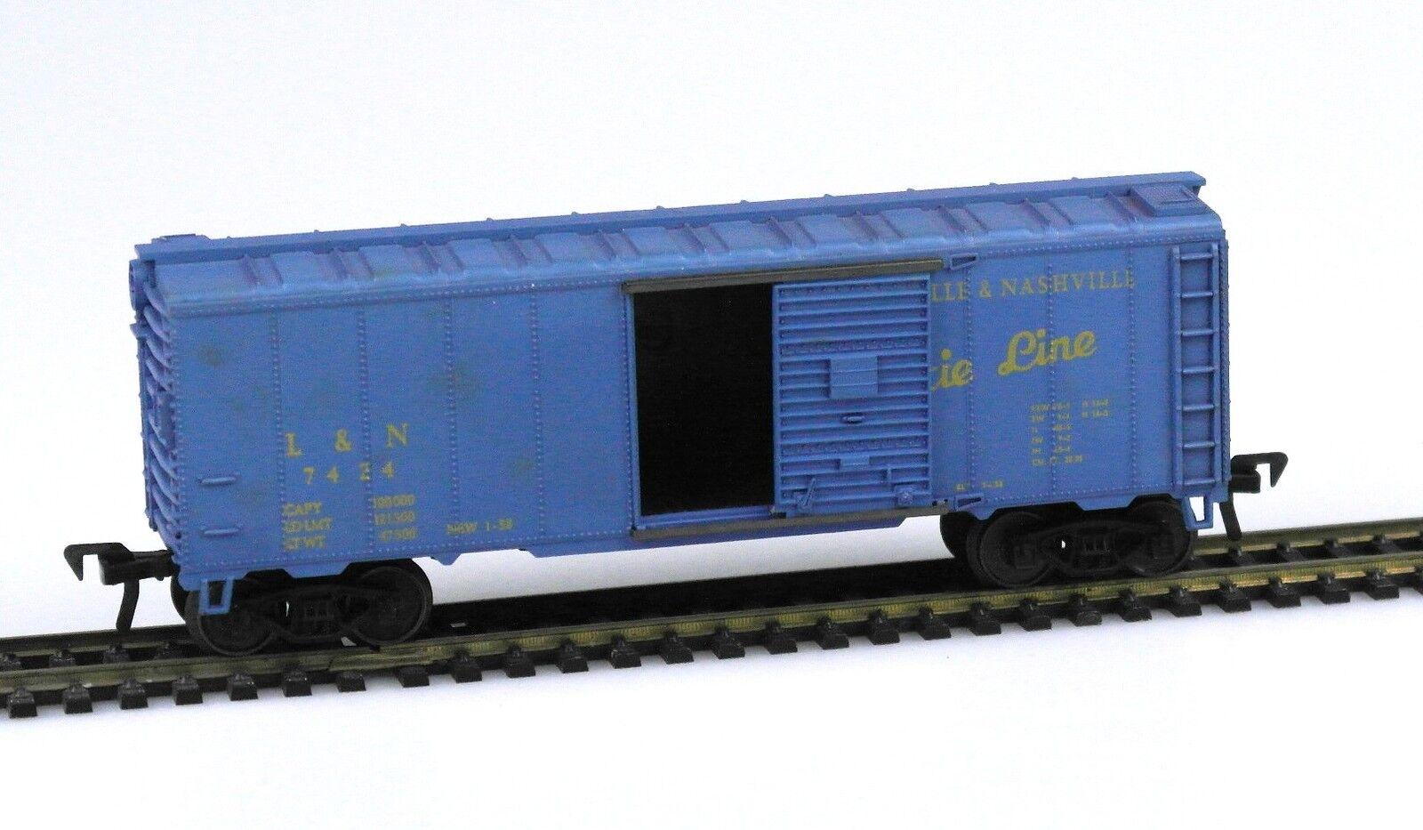FLEISCHMANN H0 1427 US Güterwagen Boxcar DIXIE LINE L&N  7424, RAR  | Die Farbe ist sehr auffällig