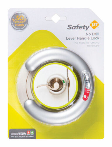 FREE SHIPPING AUSTRALIA WIDE No Drill Needed Safety 1st Lever Handle Lock