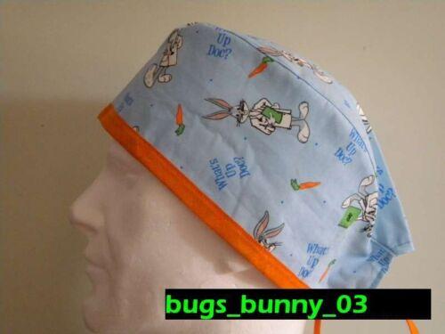 Sottocasco Surgical cap Cuffia chirurgica bugs/_bunny/_01 Bandana