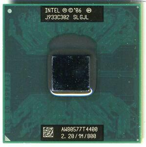 Intel-Pentium-Dual-Core-T4400-2-2-GHz-mobile-CPU-1MB-SLGJL-processor-laptop-MINT