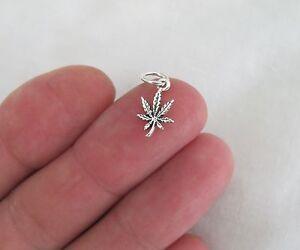 Small-Sterling-Silver-marijuana-leaf-miniature-charm