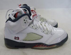 best website 0766e c7cc9 Image is loading Nike-Air-Jordan-5-Retro-Gs-034-Olympic-