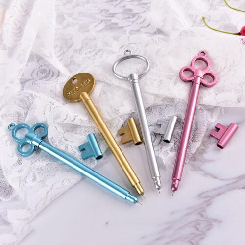 2X Creative Cute Key Pen Gel Pen School Supply Office Stationary LS