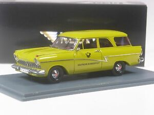 TOP-Neo-Scale-Models-Ford-Taunus-Turnier-Bundespost-1-43-in-OVP
