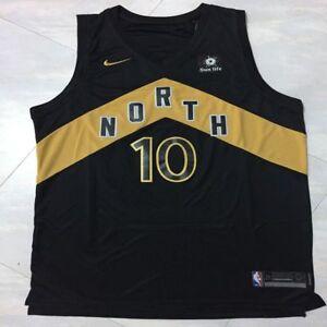 37d369e8ca1 Toronto Raptors DeMar DeRozan #10 men's black jersey S-2XL | eBay