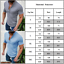 Men Summer Slim Fit Muscle Short Sleeve Casual Henley T-shirts Tops Blouse Sizes