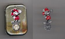 Walt Disney Studios Burbank NY New York Fireman Mickey Mouse Cast Pin & Tin Set