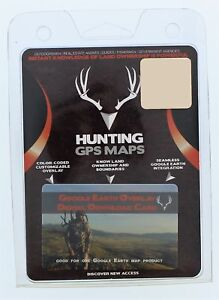 Hunting Gps Maps Google Earth Overlay Digital Download Card