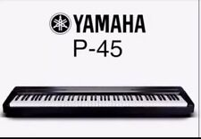 SALE-FREE P+P UK- Yamaha P-45B Compact Digital Piano - Black- NEW