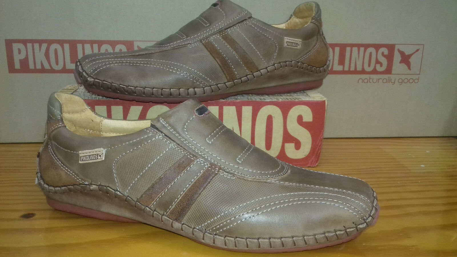 Pikolinos shoes footwear 08J-5822BF shoes calzado leather natural leather slip