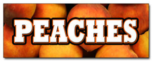 12-034-PEACHES-DECAL-sticker-peach-fruit-stand-farmers-market-produce-vegetables