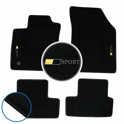 tapis sol renault megane 4 dci 90 110 130 165 gt logo. Black Bedroom Furniture Sets. Home Design Ideas