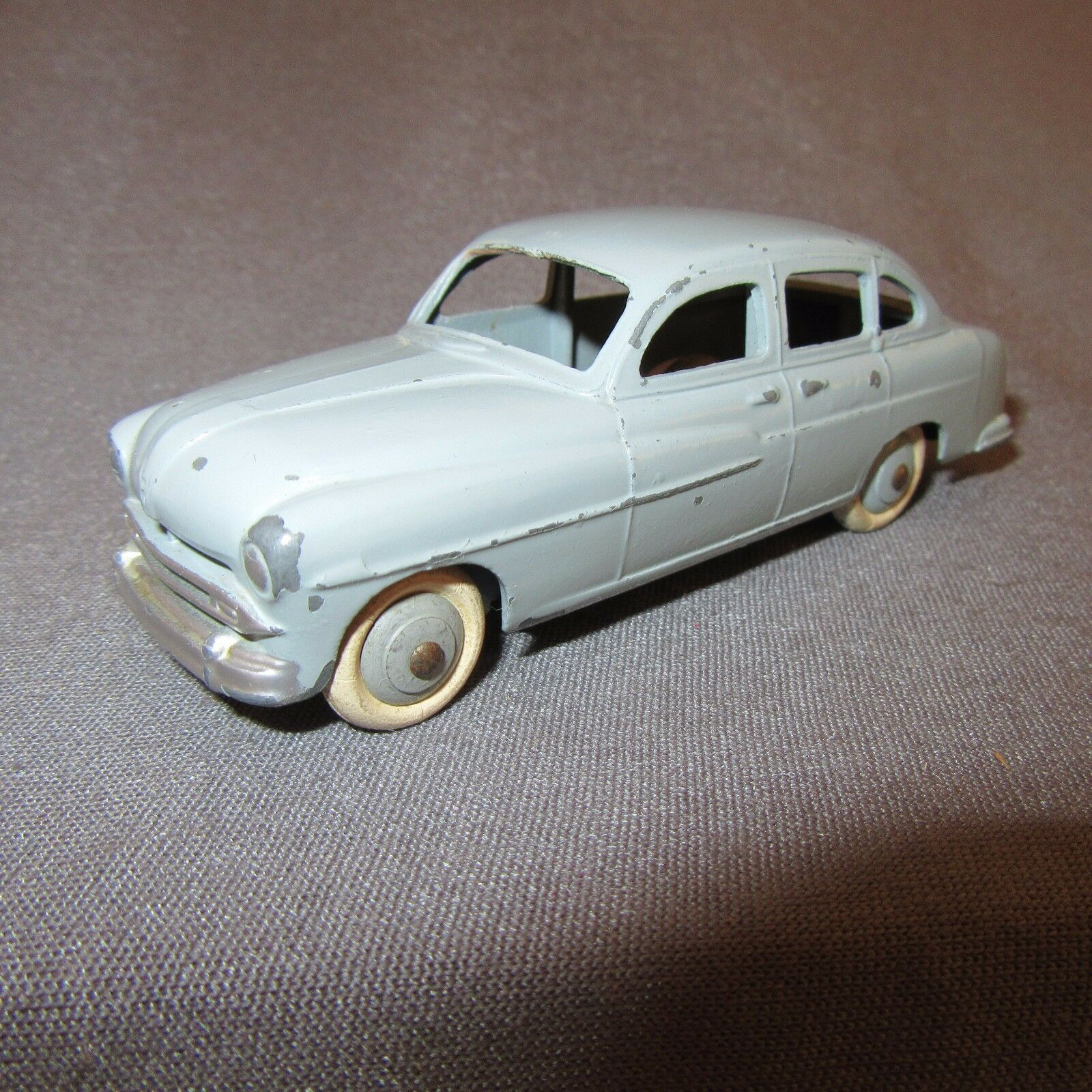 343D Vintage Dinky 24X Ford Vedette 54 Grau Meccano