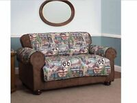 Route 66 Love Seat Furniture Protector 2 Seat Loveseat Cover