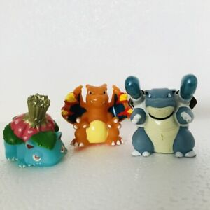 Blastoise-Venusaur-amp-Charizard-Pokemon-Nintendo-Bandai-3-Toy-Figures-Bundle-f