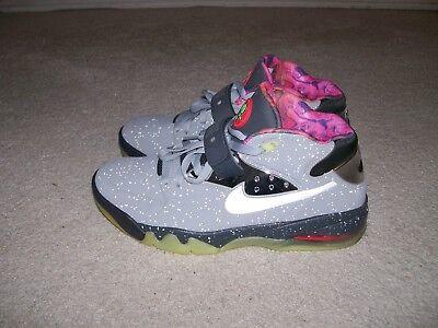Sz 11 Nike Air Force Max Bereich 72 Grau Leuchtet Im Dunklen 597799 001 Barkley | eBay