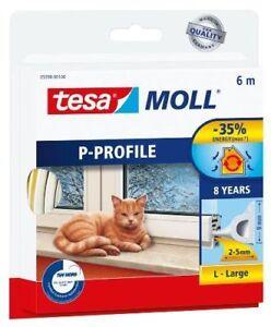 Humour Tesa Moll Guarnizione X Porte E Finestre Profilo P In Gomma 6mt X Spessore 2-5mm Toujours Acheter Bien