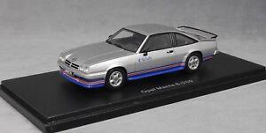 Neo-Models-Opel-Manta-B-i200-IRMSCHER-EN-PLATA-1984-45476-1-43-Nuevo