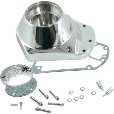 Chrome Forged Alloy Cam Cover for Harley Davidson by V-Twin